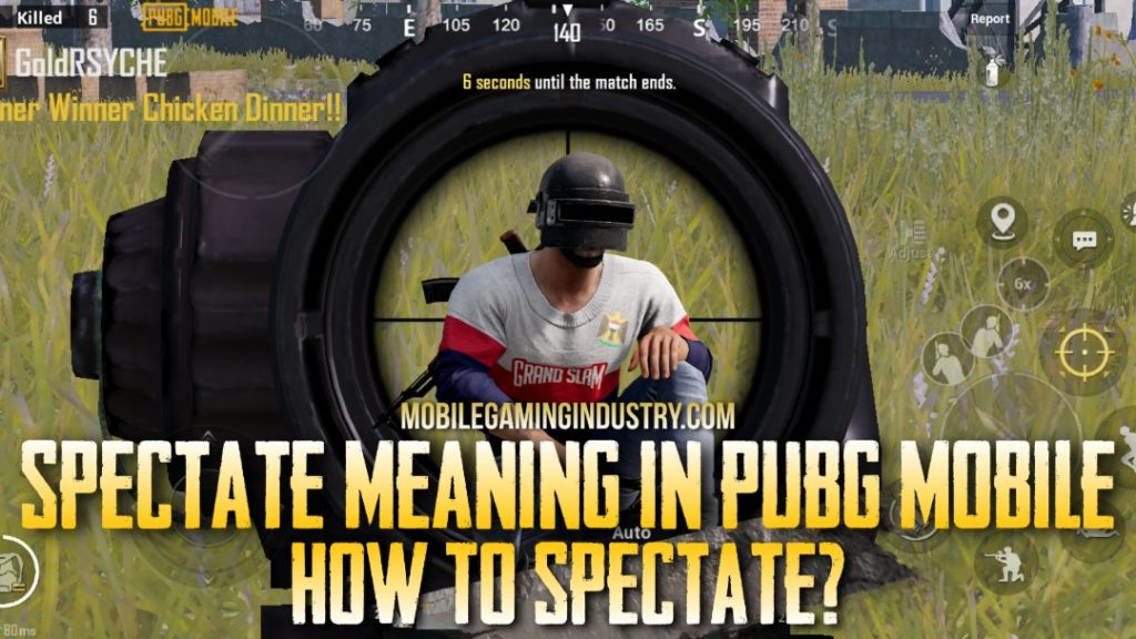 Spectate meaning in PUBG Mobile, What is spectate in PUBG Mobile, How to spectate in PUBG Mobile, Spectator in PUBG Mobile, Spectate settings in PUBG Mobile