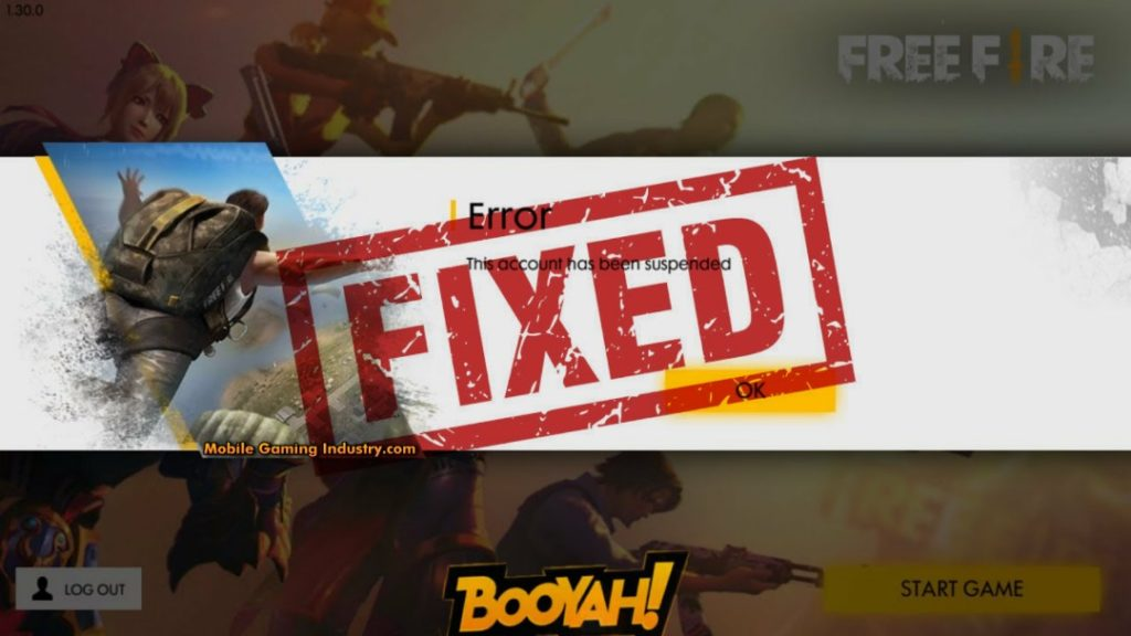 Free Fire Account Ban, Free Fire Account has Been Suspended, This account has been suspended, Free Fire Account Banned, Fix Free Fire Suspended Account, Unban Free Fire Account