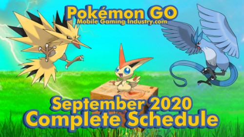 Pokemon GO September 2020 Schedule, Pokemon GO September 2020 Research Breakthrough Pokemon, Pokemon GO September 2020 Legendary Raids, September 2020 Raid Timings, Pokemon GO Battle Night Event, Pokemon GO September 2020 Spotlight Hours, Pokemon GO September 2020 Community Day