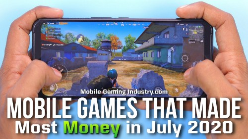 Top Grossing Mobile Games July 2020, Top earning mobile games July 2020, What Mobile Games Made the Most Money, Top earning Android games July 2020, Top Earning iOS games July 2020