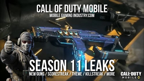 call of duty mobile season 11 update leaks new guns scorestreak lucky draw cod mobile 1 year anniversary and more mobile gaming industry of duty mobile season 11 update leaks
