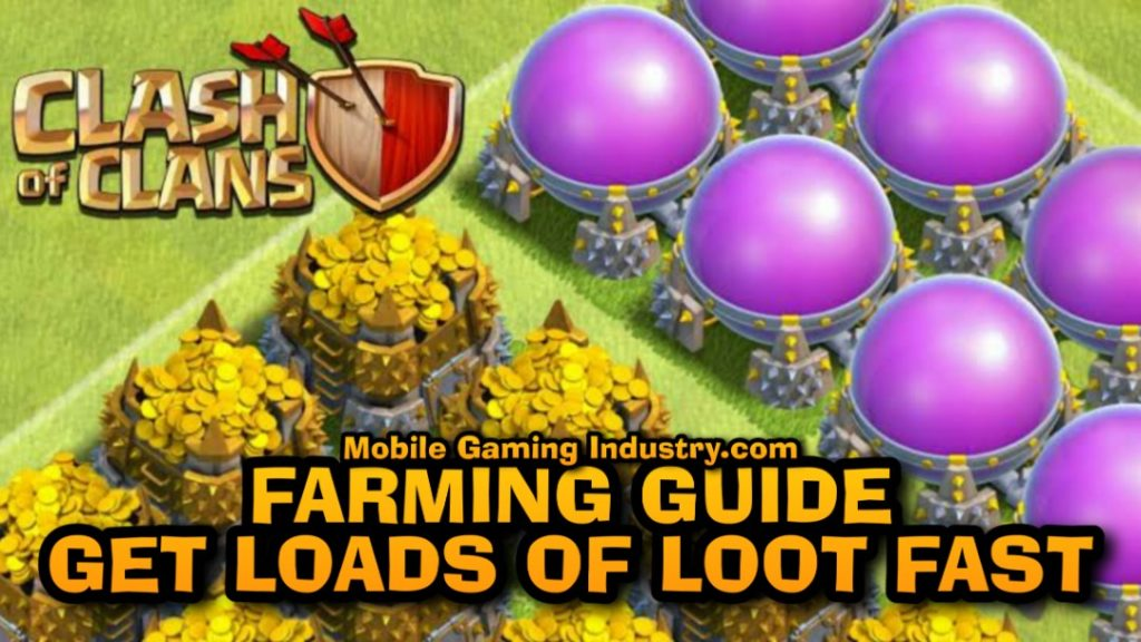 Clash of Clans, Clash of Clans Farming Guide, Clash of Clans Loot, Clash of Clans Strategy, COC BARCH, COC BAM, Clash of Clans Easy Loot, How to Loot in COC, COC Farming Guide, COC Loot, COC Guide