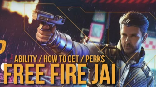 Free Fire New Character, Jai Free Fire, Jai Ability Free Fire, Get Jai in Free Fire, Get Jai for Free in Free Fire, Jai Raging Reload, Ability of Jai in Free Fire, Free Fire Be the Hero, FF Jai