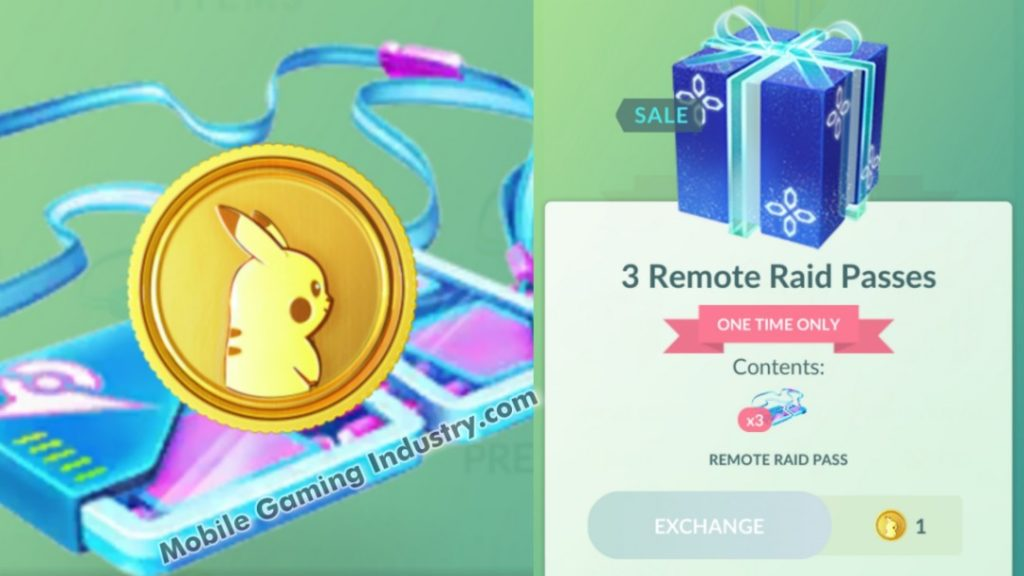 Pokemon GO, Pokemon GO Remote Raid Pass, Pokemon GO PokeCoin Offer, Pokemon GO Redeem, Pokemon GO 1 PokeCoin Shop, Pokemon GO Mega Raid