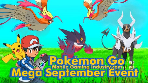Pokemon GO Mega September Event, Pokemon GO Mega Evolution, Pokemon GO Mega Pidgeot, Pokemon GO Mega Houndoom, Pokemon GO Mega Gengar, Mega Evolution Timed Research Tasks, Pokemon GO September 2020